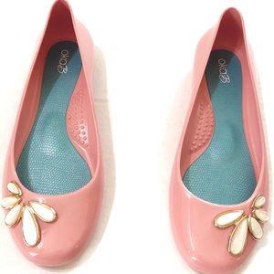 NWOB Oka b Adele Women's Ballet Flats  Pink Salt